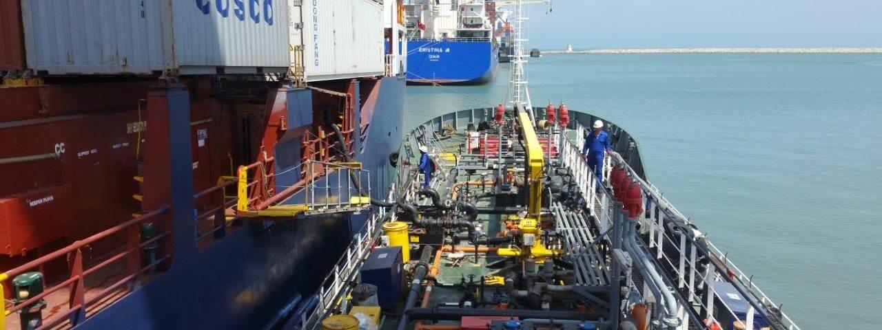 Liaison maritime et rétention de navires en Israël pour dettes maritimes de ravitaillement