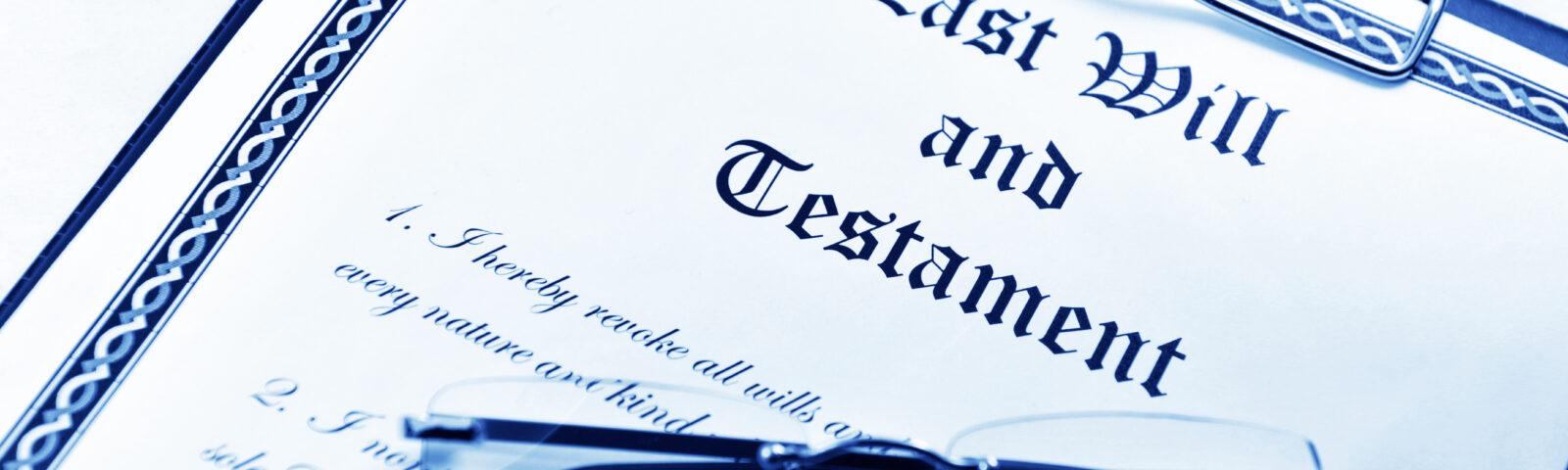 L'importance de faire rédiger un testament par un avocat